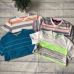 Epic Threads V-neck Short Sleeve Tees - Set of 4